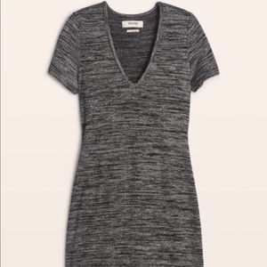Aritzia TNA Golden Inland Dress- Dark Grey- Size M